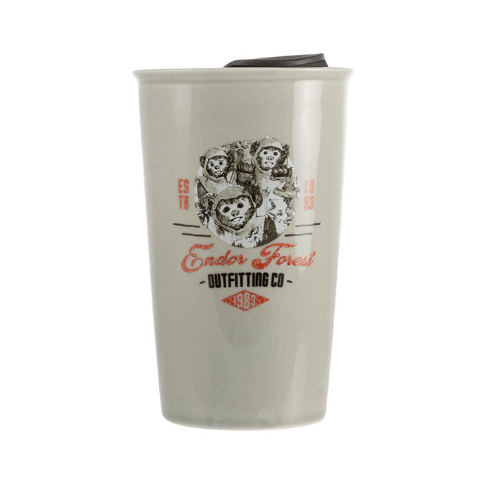 Endor Forest Outfitting Co. travel mug, $12