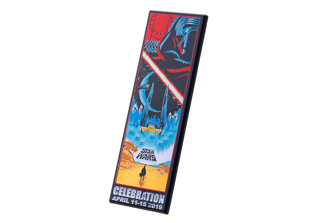 The Force Awakens Celebration pin, limited to 1,000, $10