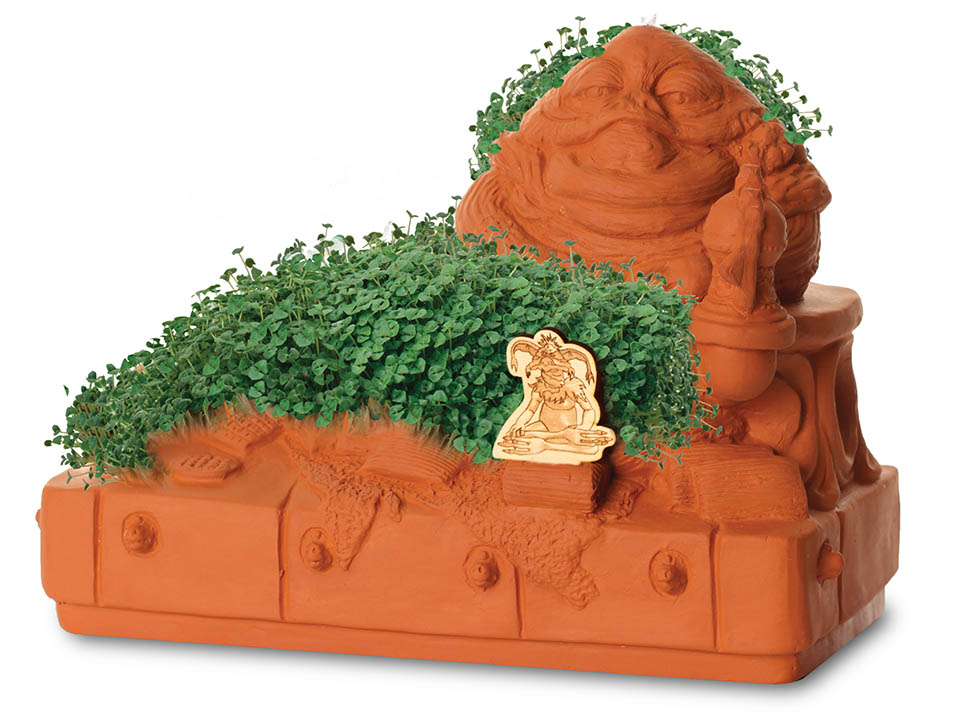 Jabba the Hutt Chia pet, limited edition of 500, $45