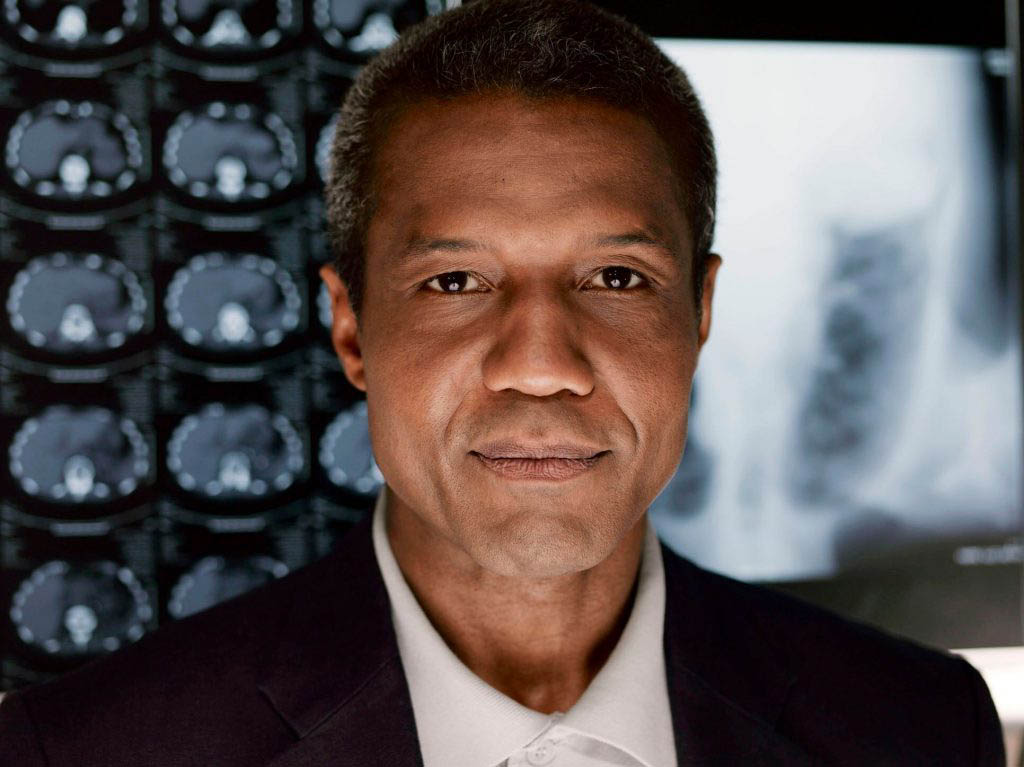 Hugh Quarshie, who played Captain Panaka.