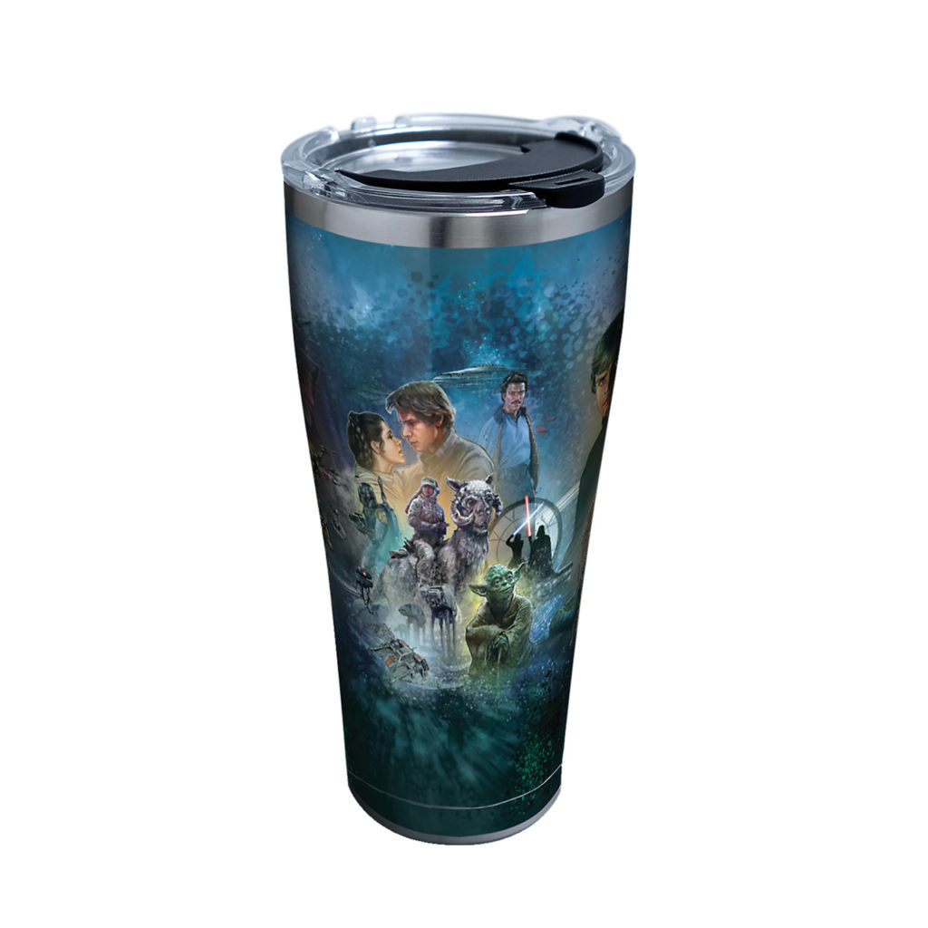 Star Wars Celebration Chicago Insulated Tumbler with Lid, 20 oz Stainless Steel, Silver