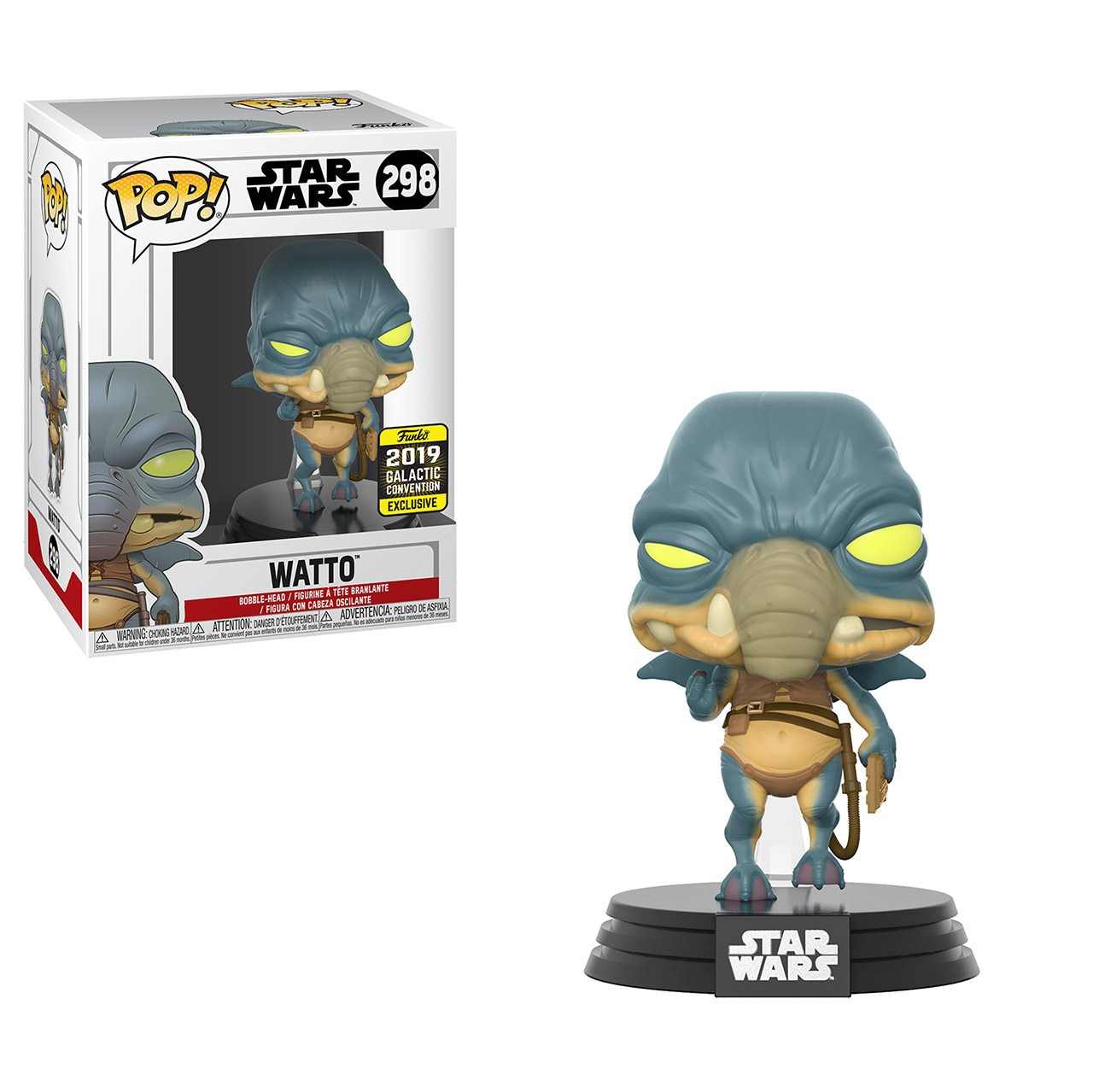 A Funko Pop! available only at Star Wars Celebration Chicago.