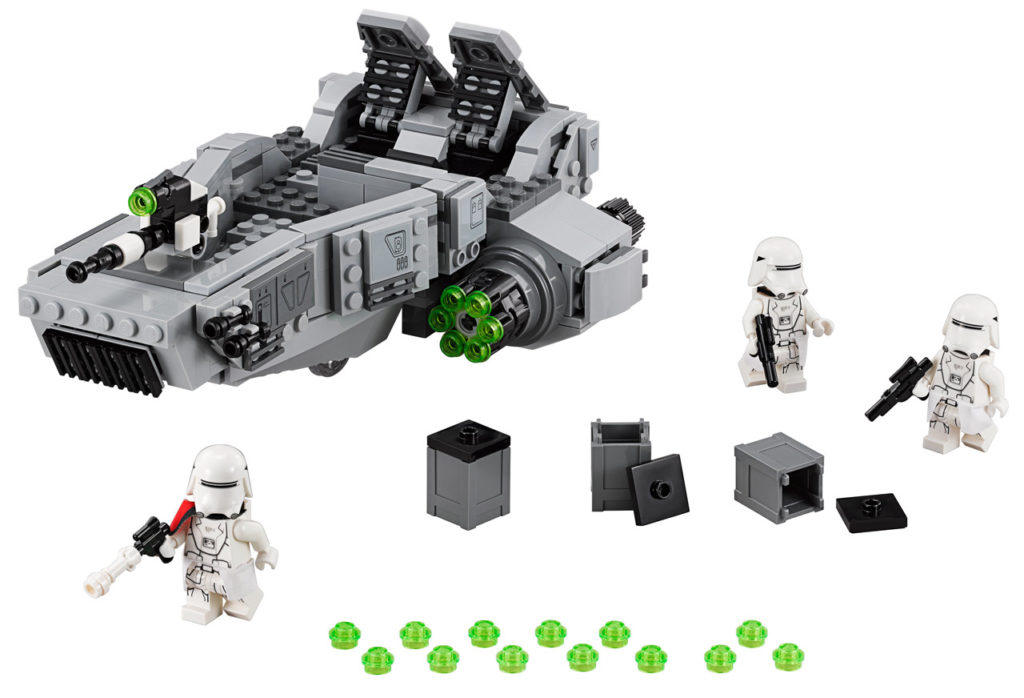 LEGO Star Wars First Order Snowspeeder.