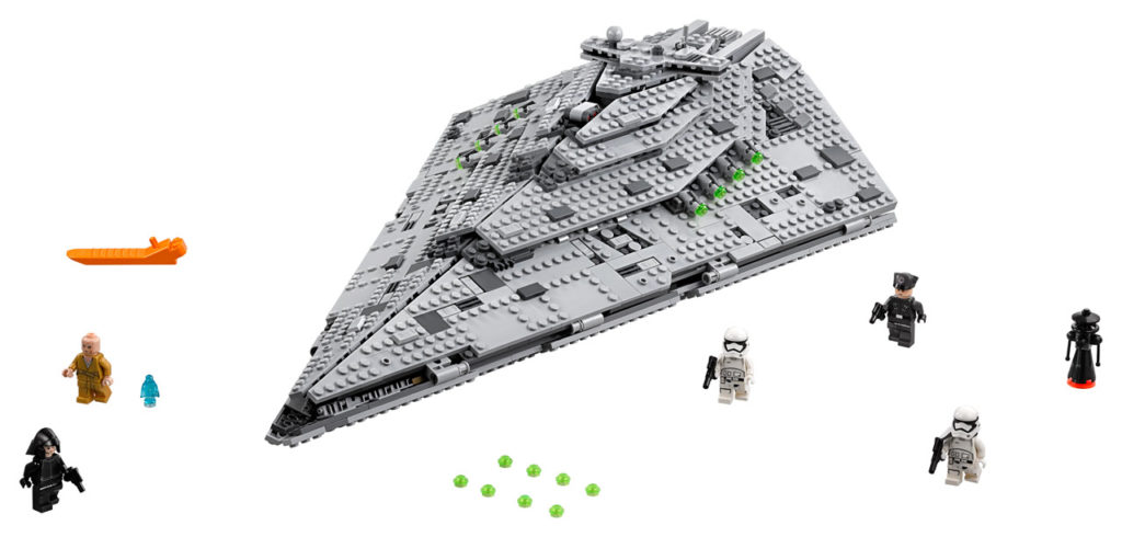 LEGO Star Wars First Order Star Destroyer.
