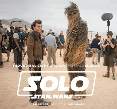 The cover the new Making of Solo: A Star Wars Story book out now.