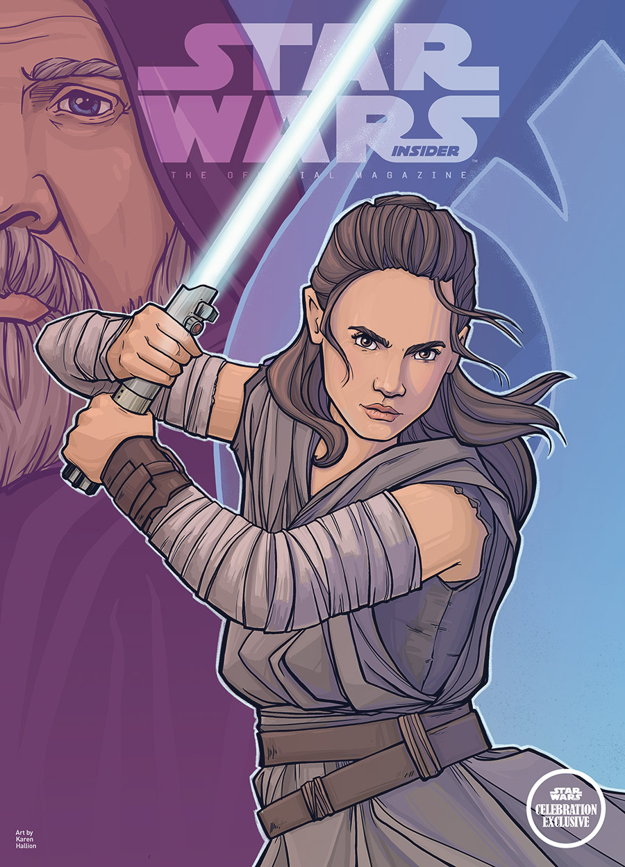 A special edition of Star Wars Insider is coming to Star Wars Celebration.