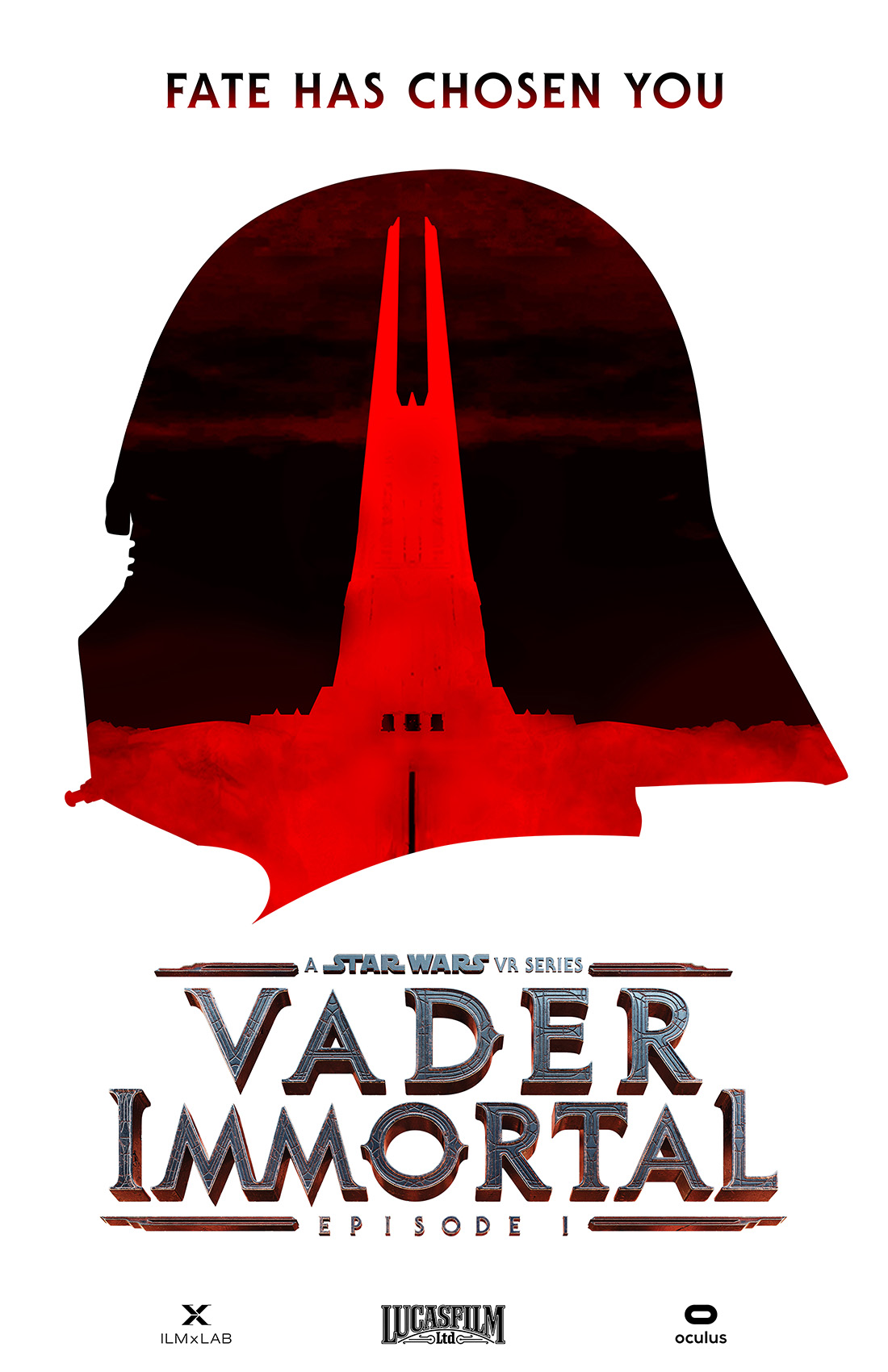 A poster from Vader Immortal.