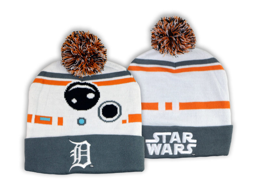 BB-8-themed Detroit Tigers beanie