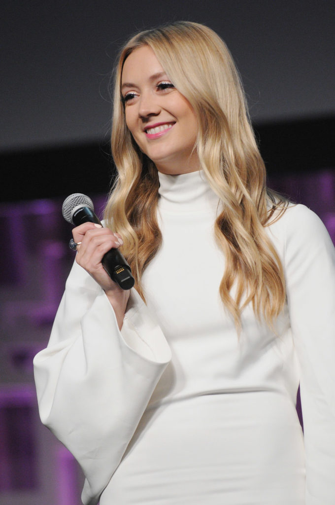 Billie Lourd at Star Wars Celebration.