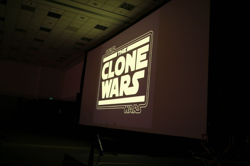 Star Wars: The Clone Wars is revealed at Celebration IV.