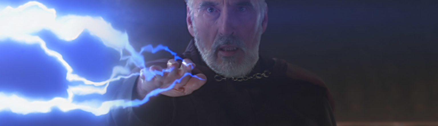 Count Dooku from Star Wars: Attack of the Clones.