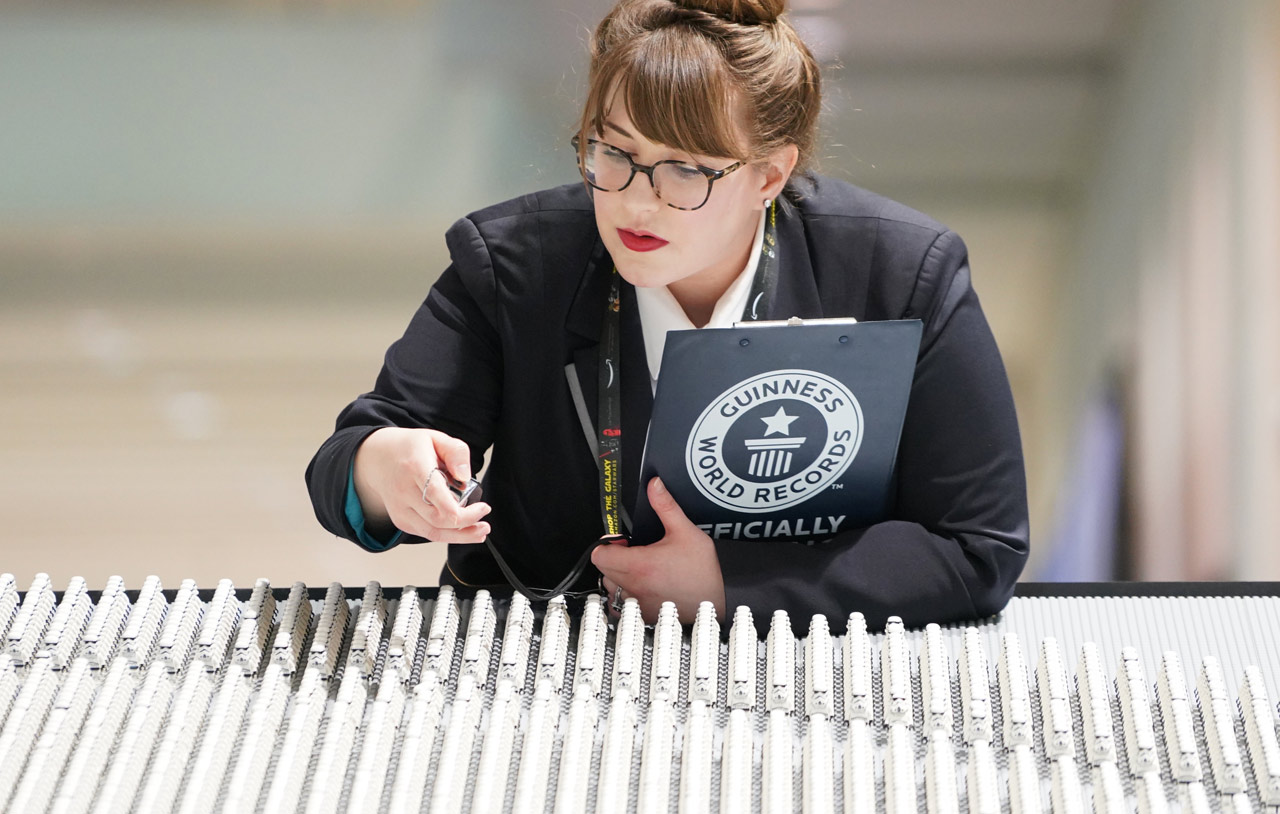 SWCC 2019: LEGO Breaks Guinness World Record with an Army of 36,440
