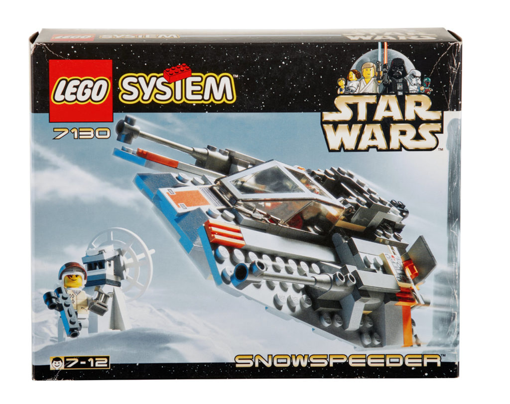 LEGO Star Wars Snowspeeder from 1999.