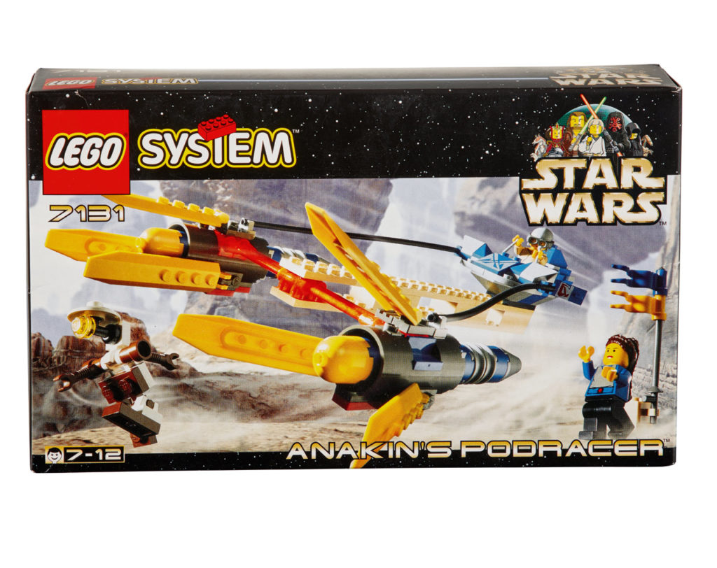 LEGO Star Wars Podracer from 1999.