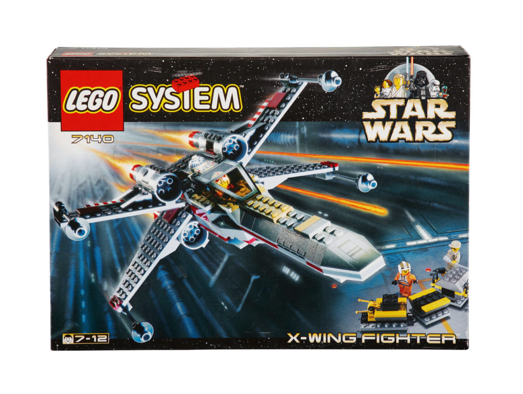LEGO Star Wars X-Wing from 1999.