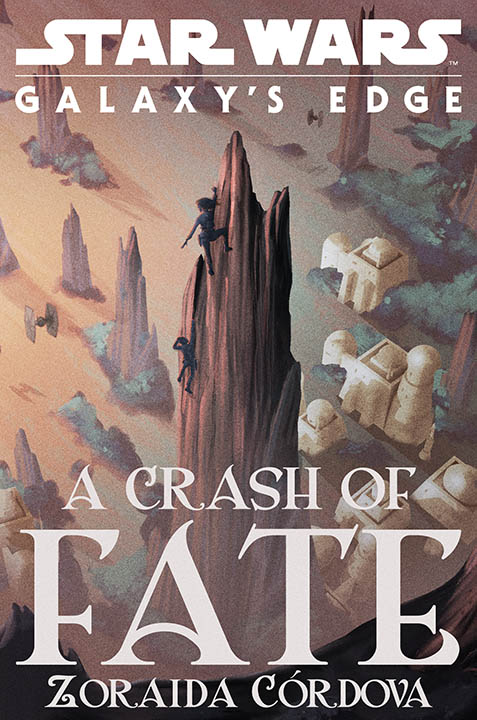 The cover of A Crash of Fate.