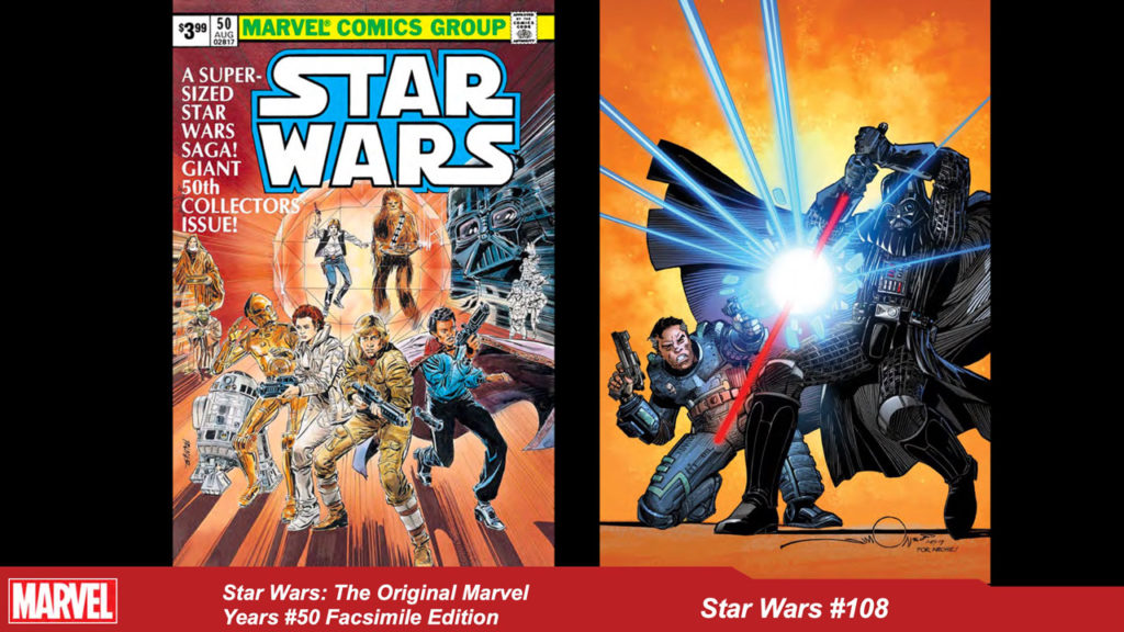 Marvel Star Wars art