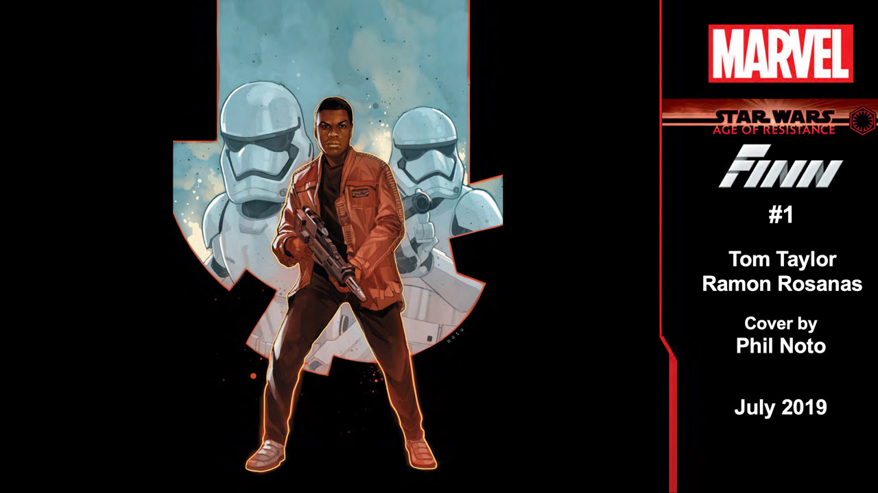 SWCC 2019: Marvel's Star Wars: Galaxy's Edge #1 Art and More