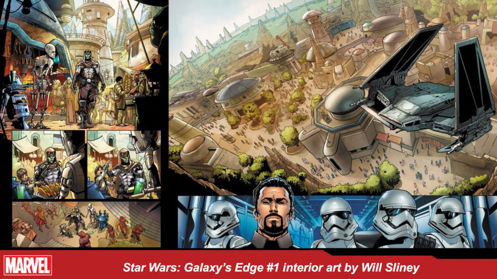 Marvel's Star Wars: Galaxy's Edge art