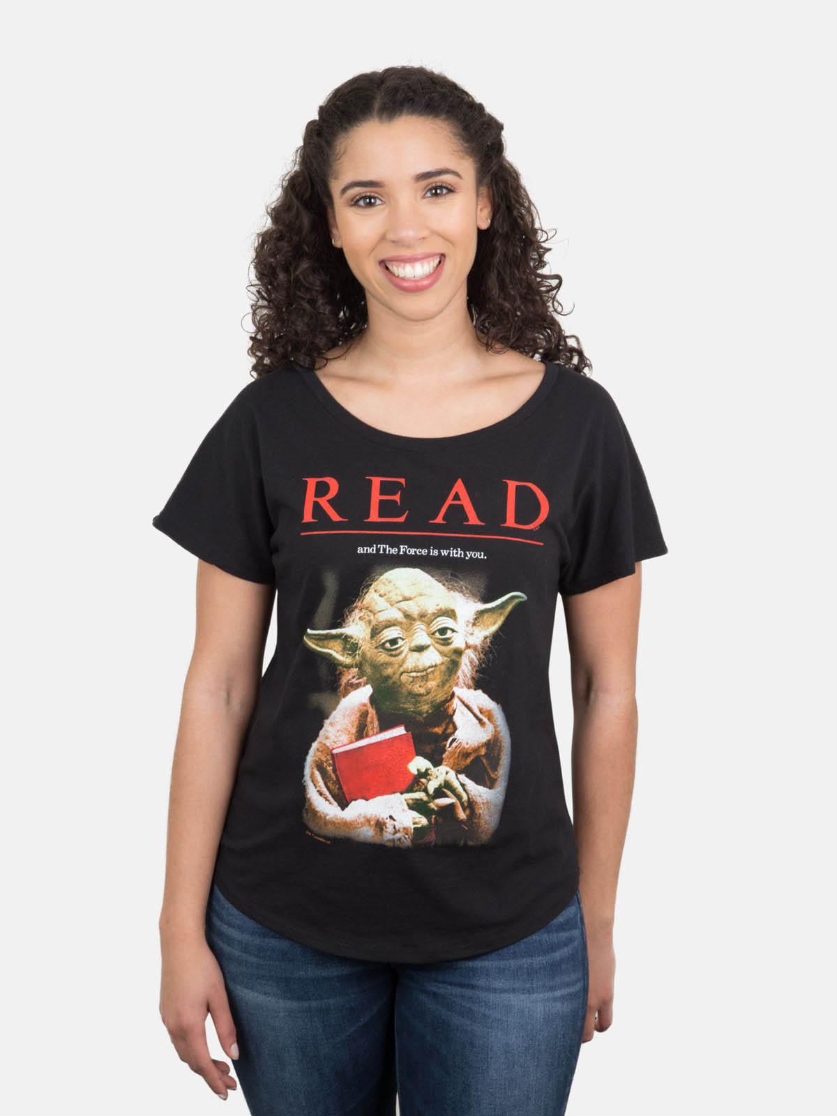 A new line from Out of Print Clothing showcases retro posters from the American Library Association.
