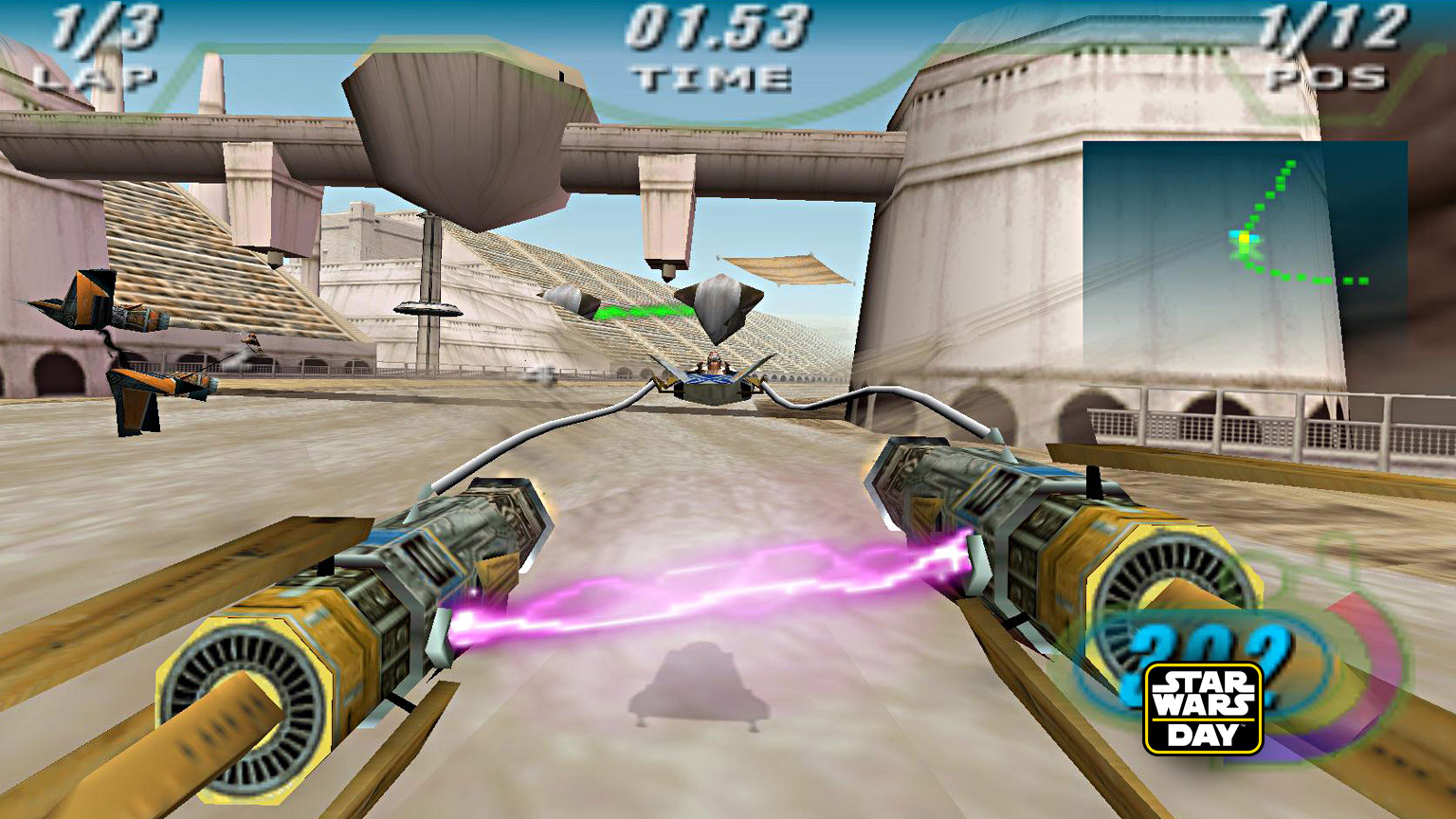 Star Wars Episode I Racer screenshot.