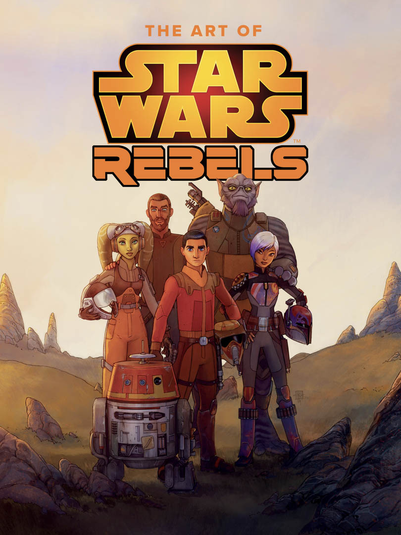The cover of The Art of Star Wars Rebels.