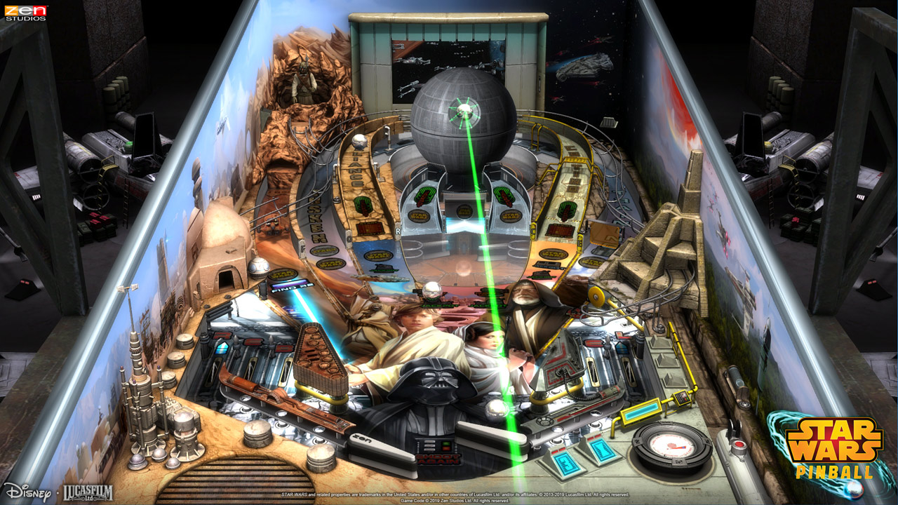 SWCC 2019: Star Wars Pinball is Coming to Nintendo Switch