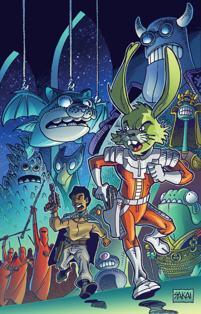 IDW Publishing Star Wars comic featuring Jaxxon.