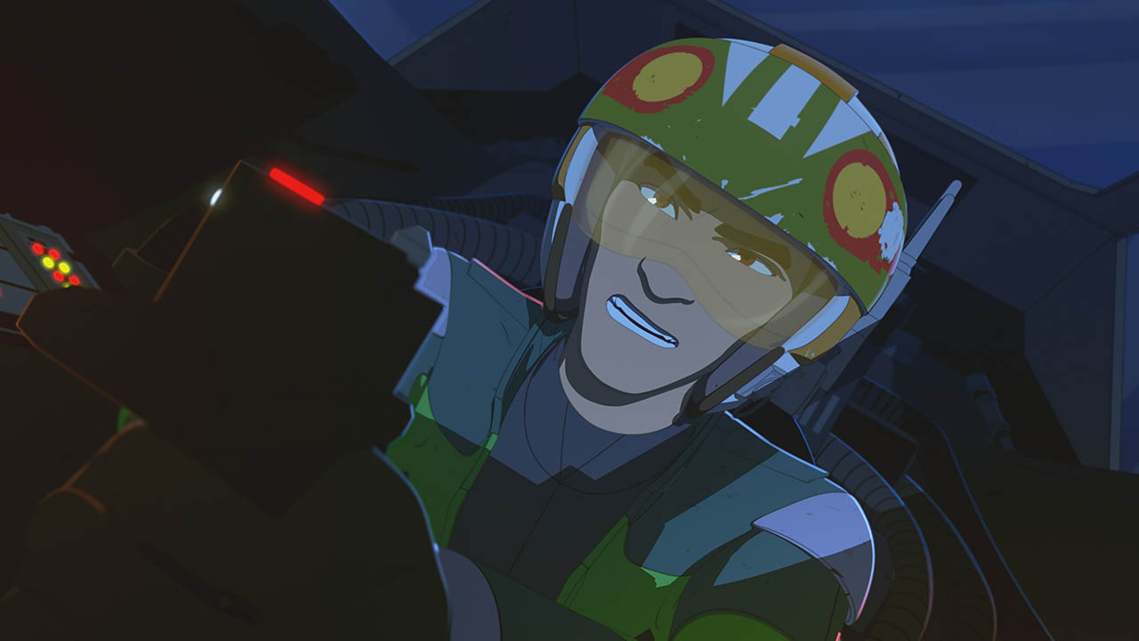 A scene from Star Wars Resistance.