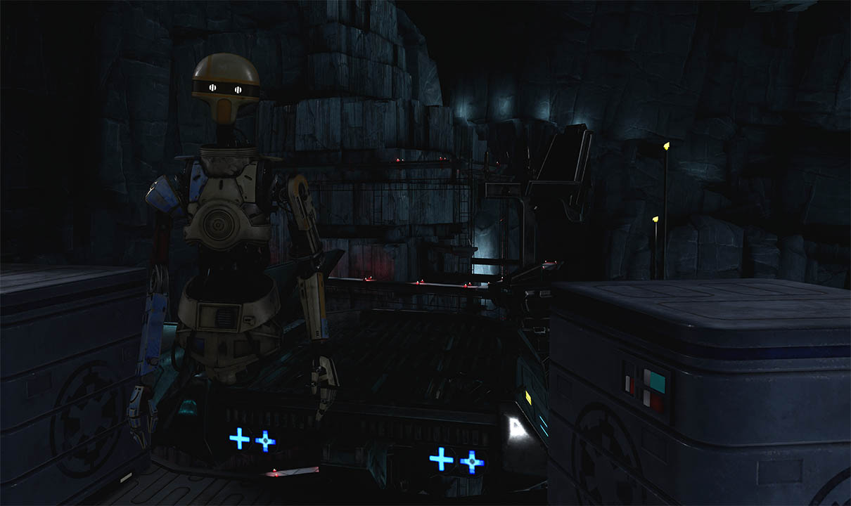 An image from Vader Immortal.