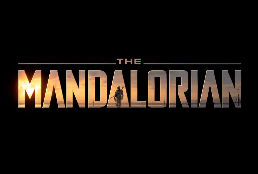 The Mandalorian logo - The Mandalorian