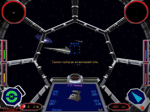 X-Wing Vs. TIE Fighter screenshot.