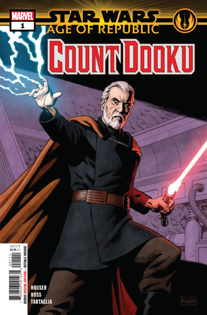 Age of Republic: Count Dooku cover.