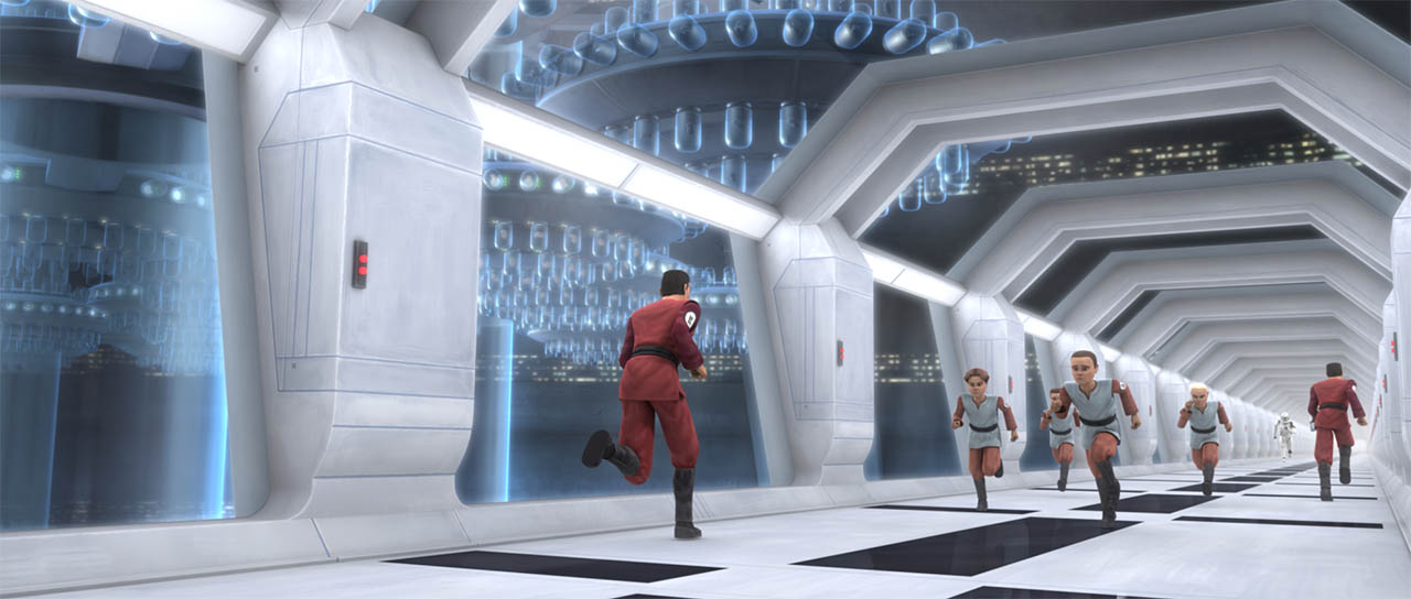 "A scene from ""ARC Troopers."""