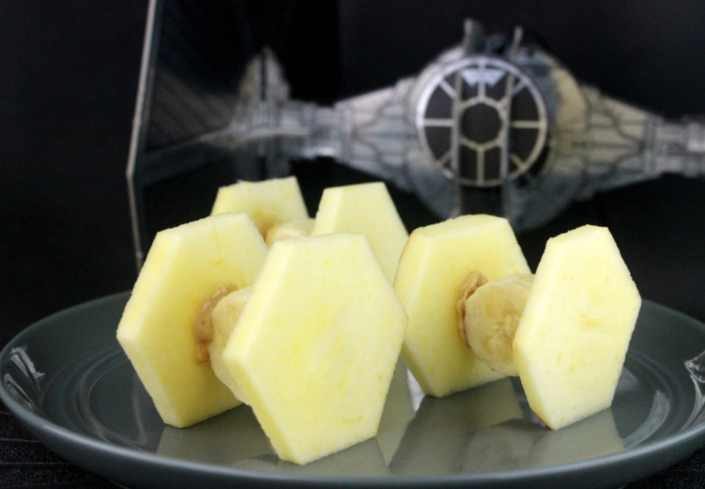 Fruit TIE Fighters!