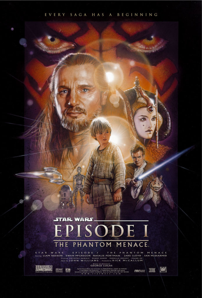 Phantom Menace poster.