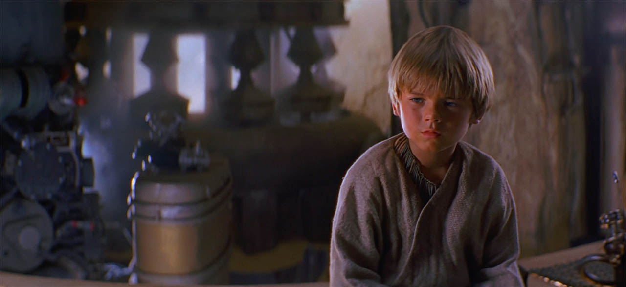 A scene from The Phantom Menace.