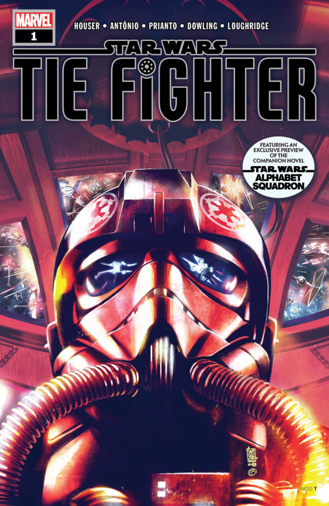 Star Wars: TIE Fighter cover by Marvel.
