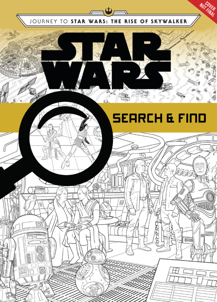 Star Wars: The Rise of Skywalker Search and Find cover