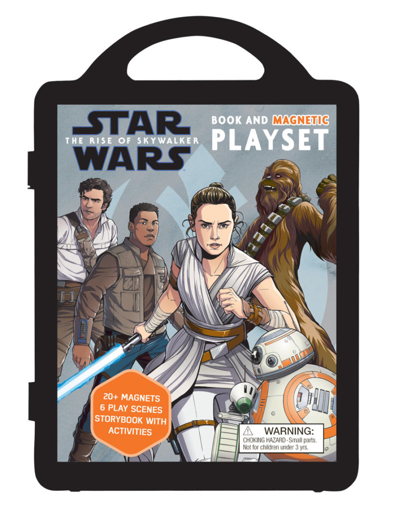 Star Wars: The Rise of Skywalker magnetic playset cover