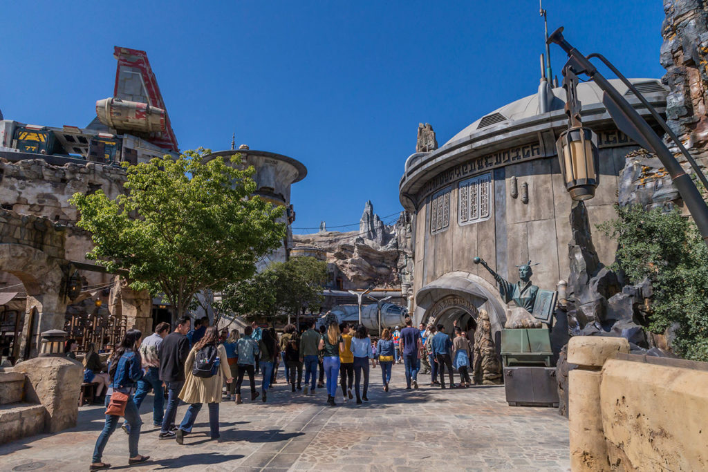 Star Wars: Galaxy's Edge at Disneyland Park in Anaheim, California