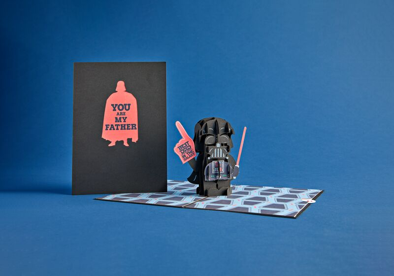 Love Pop Darth Vader pop-up Father's Day card