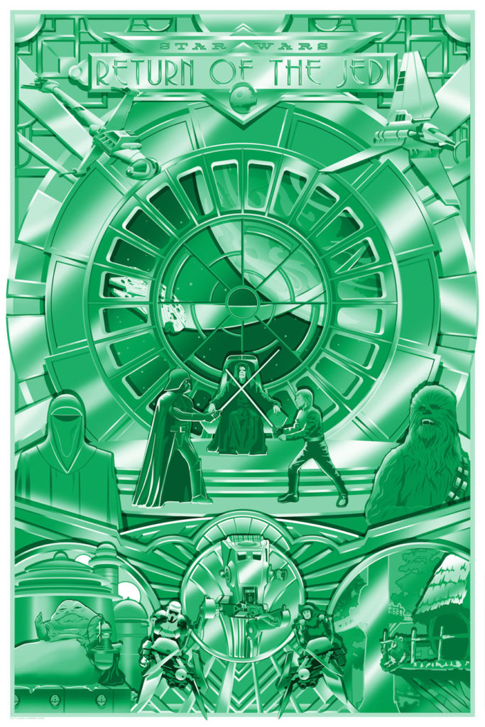 "Acme Archives ""Shiny Return"" poster SDCC exclusive"