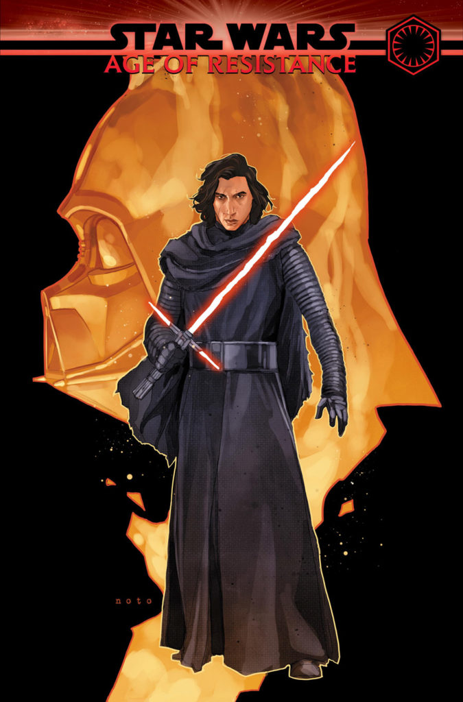 Age of Resistance - Kylo Ren #1 cover