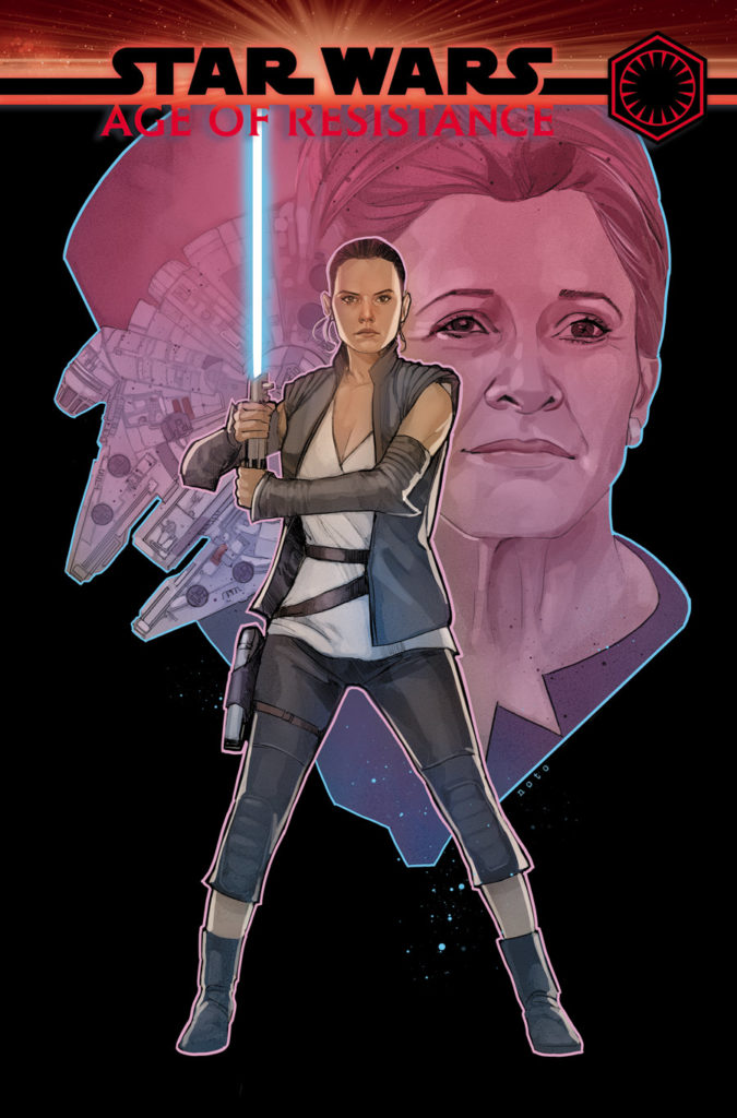 Age of Resistance - Rey #1 cover