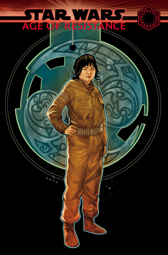 Age of Resistance - Rose Tico #1 cover