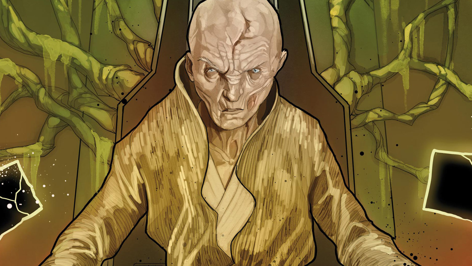 Age of Resistance - Supreme Leader Snoke #1 cover
