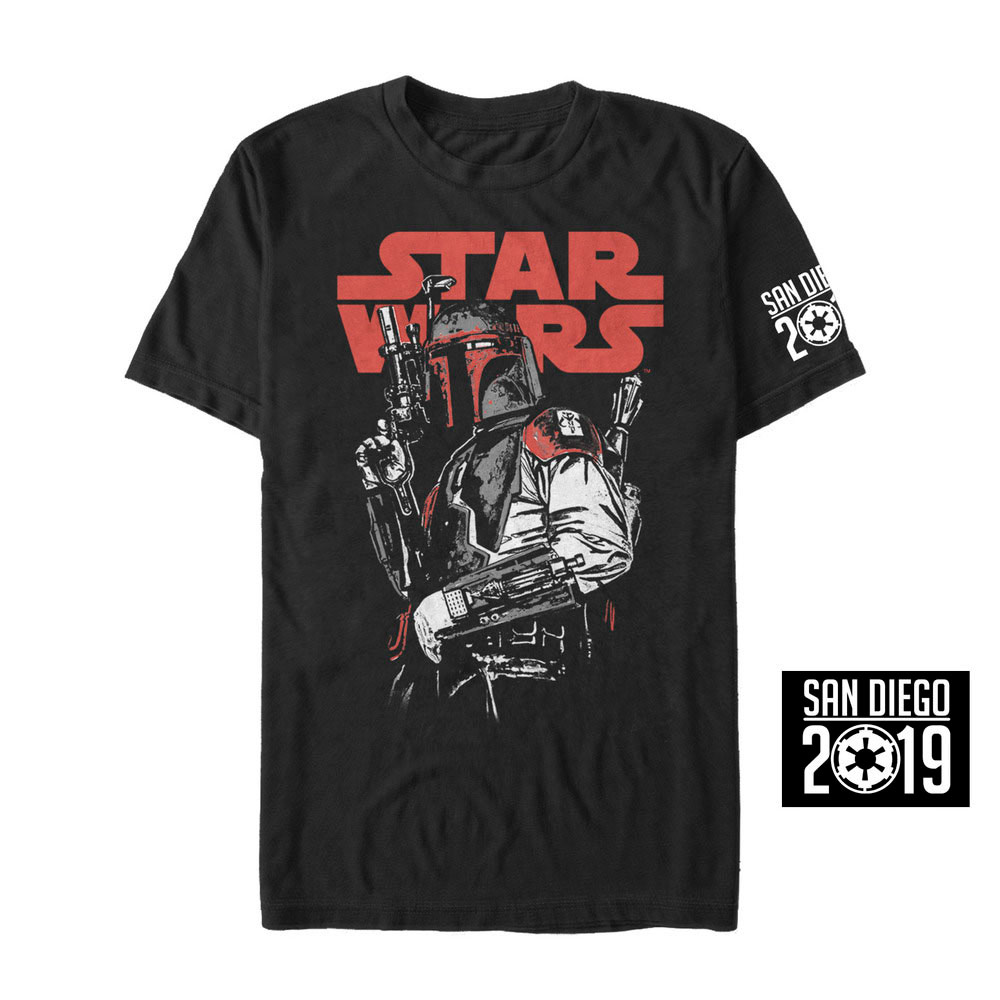 Fifth Sun SDCC Boba Fett shirt
