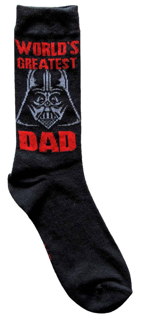 Hypnotic's Darth Vader socks