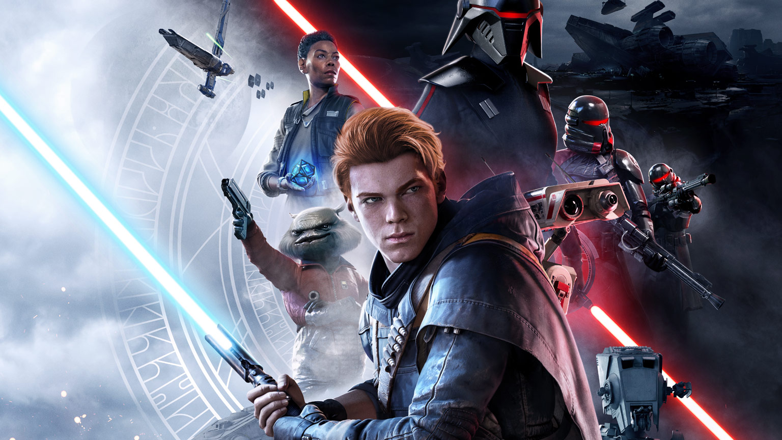 Star Wars Jedi: Fallen Order key art